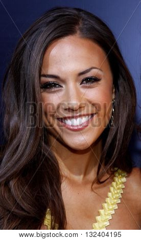 Jana Kramer at the World premiere of 'Prom Night' held at the Arclight Theater in Hollywood, USA on April 9, 2008.