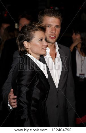 Ryan Phillippe and Kimberly Peirce at the Los Angeles premiere of 'STOP-LOSS' held at the DGA Theater in Hollywood, USA on March 17, 2008.