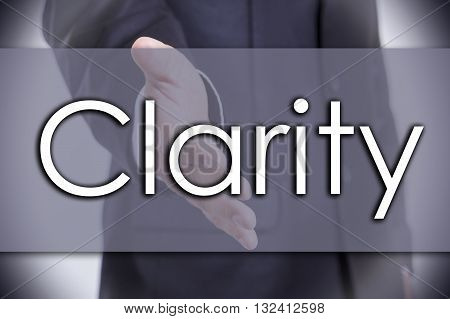 Clarity - Business Concept With Text