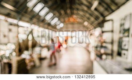 Blur Tradeshow