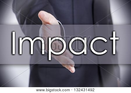 Impact - Business Concept With Text