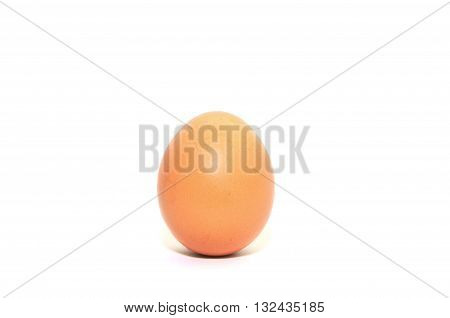 Single egg isolated for background and dicut