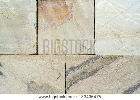 Stone texture in yellow color