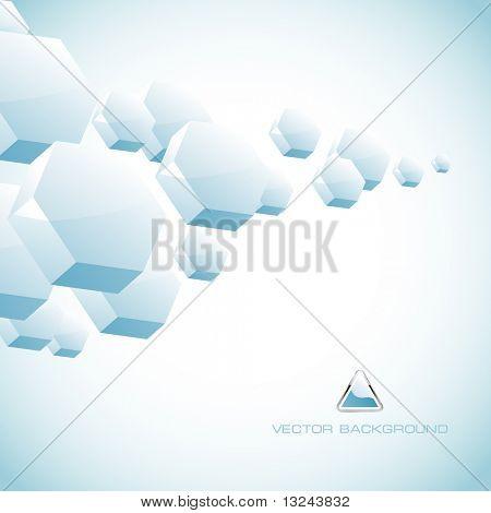 abstrakt Sechskant-Hintergrund.
