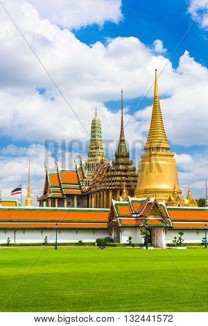 Grand Palace of Bangkok, Thailand.