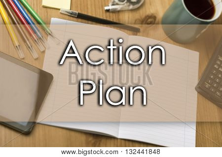 Action Plan - Business Concept With Text