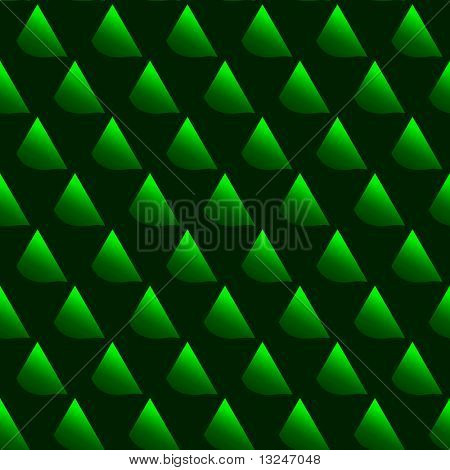 Vector green leather seamless pattern.
