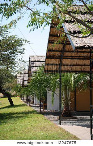 huts in Ethiopia
