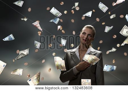 Dreaming to become rich