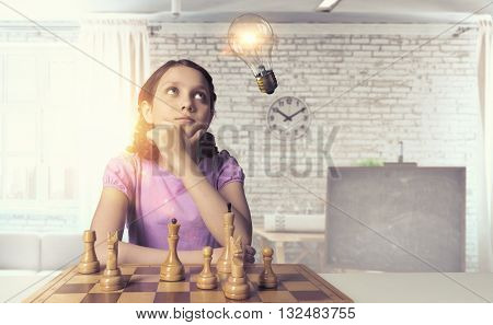 Chess game for clever mind