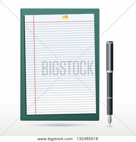 Letter Pad With Pen