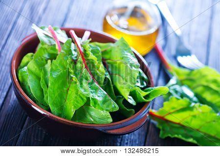 Mangold Leaf