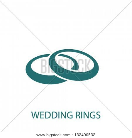 wedding rings icon