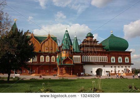 Palace in the Kolomenskoe.