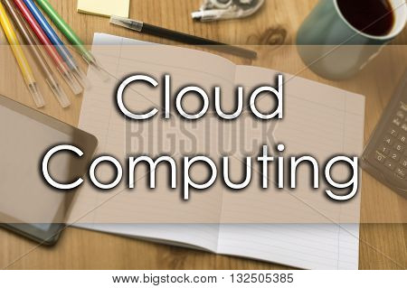 Cloud Computing - Business Concept With Text