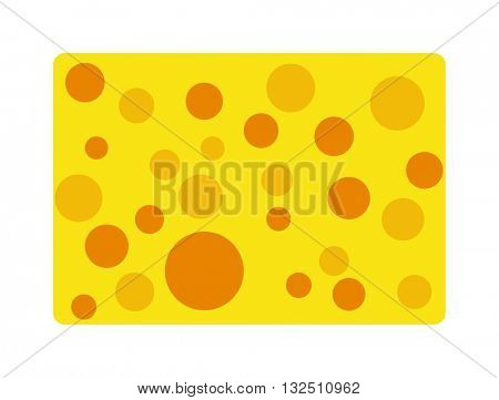 Sponge cartoon vector illustration