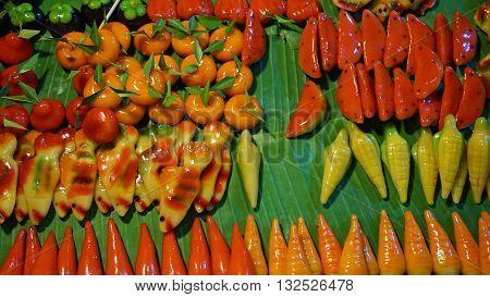 Street Food Marzipan