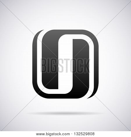 Logo for letter O design template vector illustration