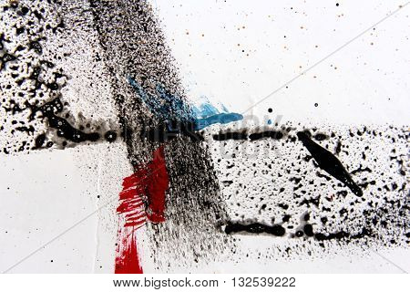 Abstract Grunge Paint Background 20