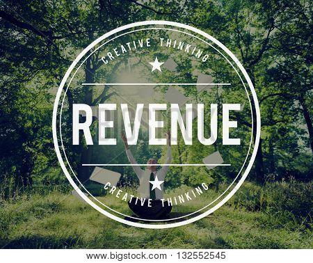 Revenue Budget Costs Economy Income Profit Concept