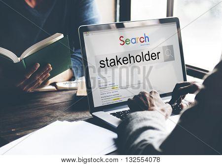 Stakeholder Shareholder Corporate Partner Associate Share Concept