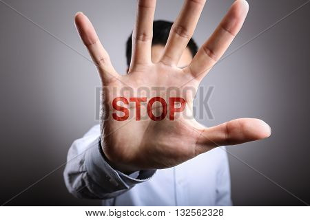 Opening Stop Hand