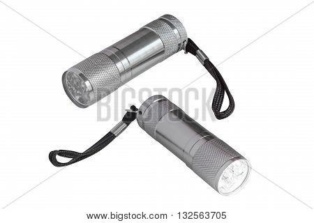 image of flashlight isolated on white background