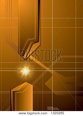 Golden Arrow-Hintergrund