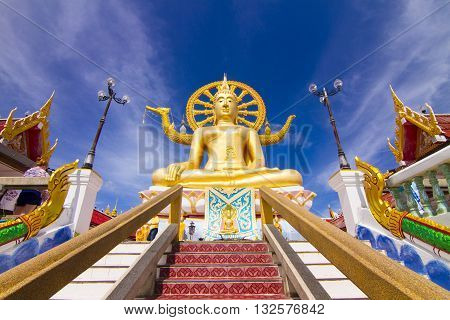 big buddha statue on koh samui thailand