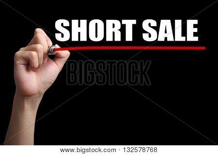 Short Sale Concept