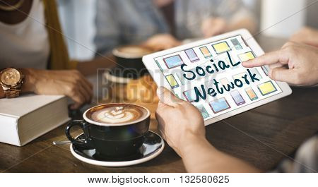 Chat Social Network Communication Share Concept