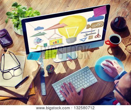 Tools Craftsmen Hobby Idea Imagination Concept