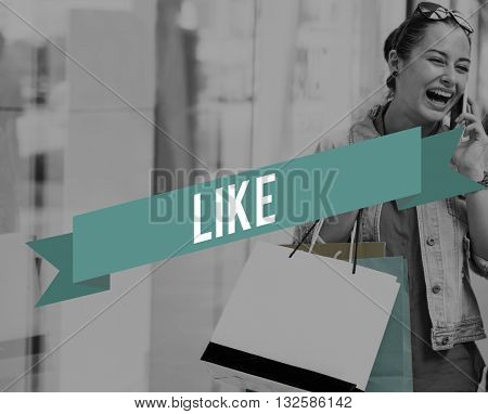 Like Thumbs Up Agree Love Follow Social Media Networking Concept