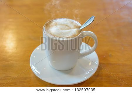 cappuccino is an Italian coffee drink that is traditionally prepared with espresso hot milk and steamed milk foam