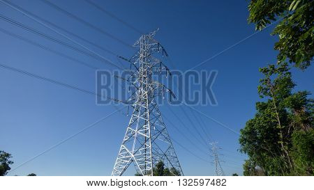 High-voltage Transmission Lines Are Used To Transmit Electric Power Over Relatively Long Distances,