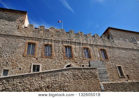 Antibes France - april 15 2016 : the Picasso museum