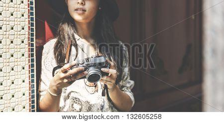 Travel Tourism Camera Photograph Wanderlust Concept