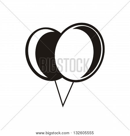 desing Baby Icon logo balloon vector illustration