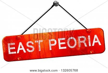 east pretoria, 3D rendering, a red hanging sign