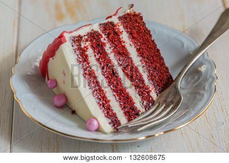 Piece Of Cake Red Velvet.