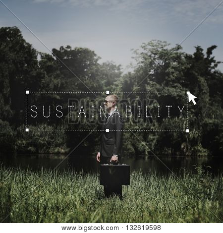 Sustainability Environment Green Business Ecology Concept