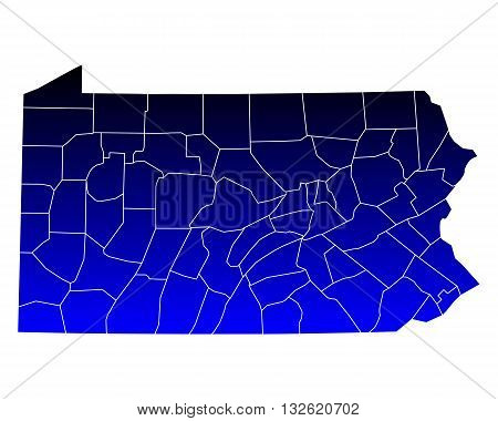 Map Of Pennsylvania