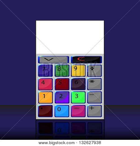 color number set. Flat dizayn. mesto for text,