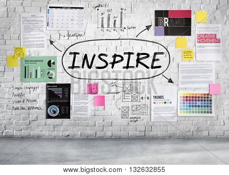 Inspire Influencing Motivation Goal Concept