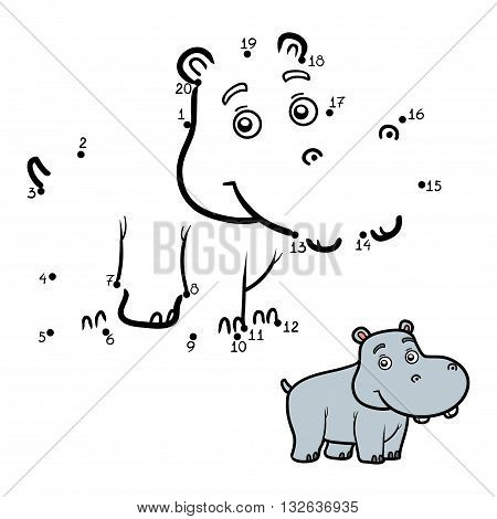 Numbers Game For Children, Little Hippo