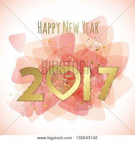 Sweet 2017 Greeting Card