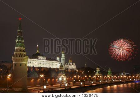 A Firework Near The Kremlin #8