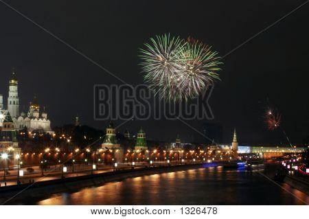 A Firework Near The Kremlin #9