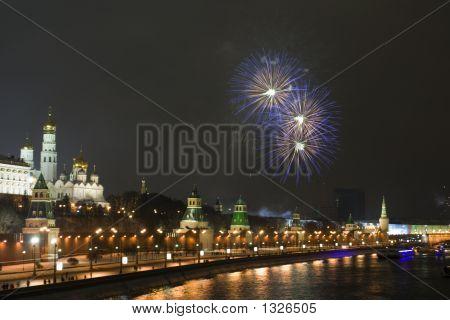 A Firework Near The Kremlin #5