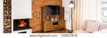 Relax By The Warmth Of The Fireplace